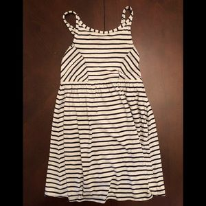 Gap girls Large 10 striped sun dress
